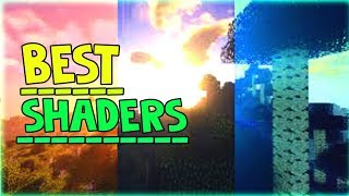 MINECRAFT MCPE/Xbox One/Windows 10 BEST SHADERS SHIFTERY
